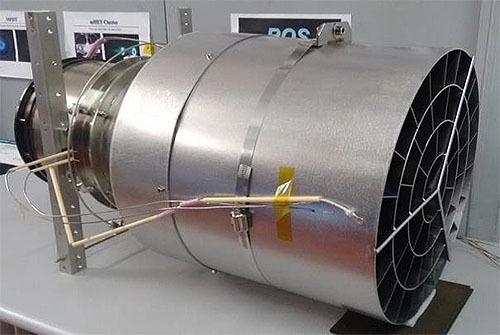 空気を推准剤にする人工衛星用エンジン