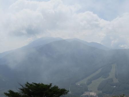 180801湯ノ丸山~烏帽子岳 (56)篭ノ登・黒斑・浅間山s
