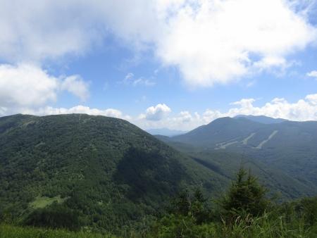 180801湯ノ丸山~烏帽子岳 (124)篭ノ登・黒斑・浅間山s