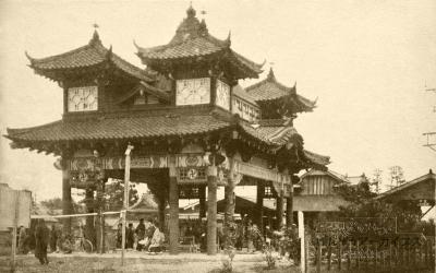 一ツ木駅の楼門