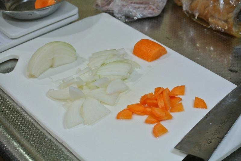車麩の煮びたし野菜