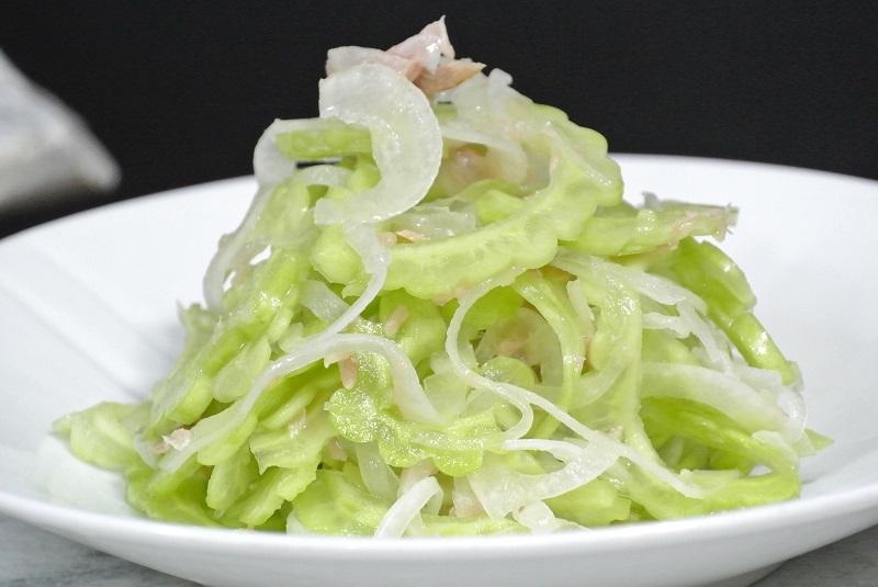 ゴーヤのサラダ6