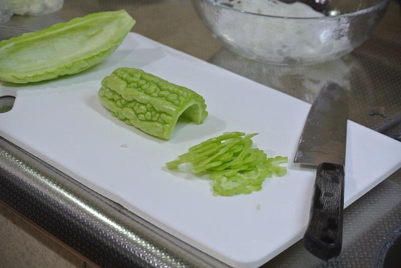 ゴーヤのサラダ3