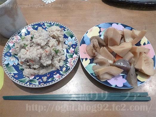 惣菜食べ放題の筑前煮とおから009