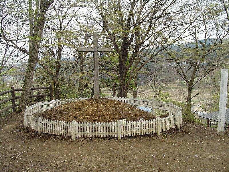 【日本】イエス・キリストが移り住んだとの伝説がある青森県戸来村(現在は新郷村)でキリスト祭が開かれる
