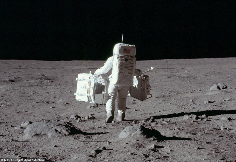 【NASA】新たな「月面」着陸時の写真を公開…これは絶対に本当だろ...陰謀論は破綻だね