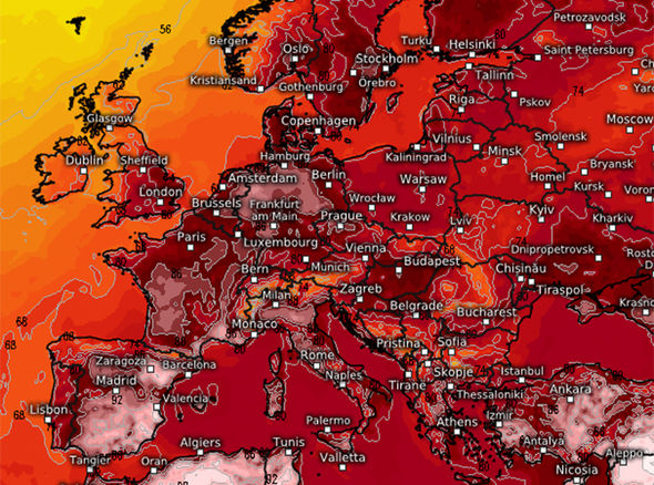 ヨーロッパにも「大熱波」が襲来…「350年」に一度レベルの暑さに天気図も真っ赤に