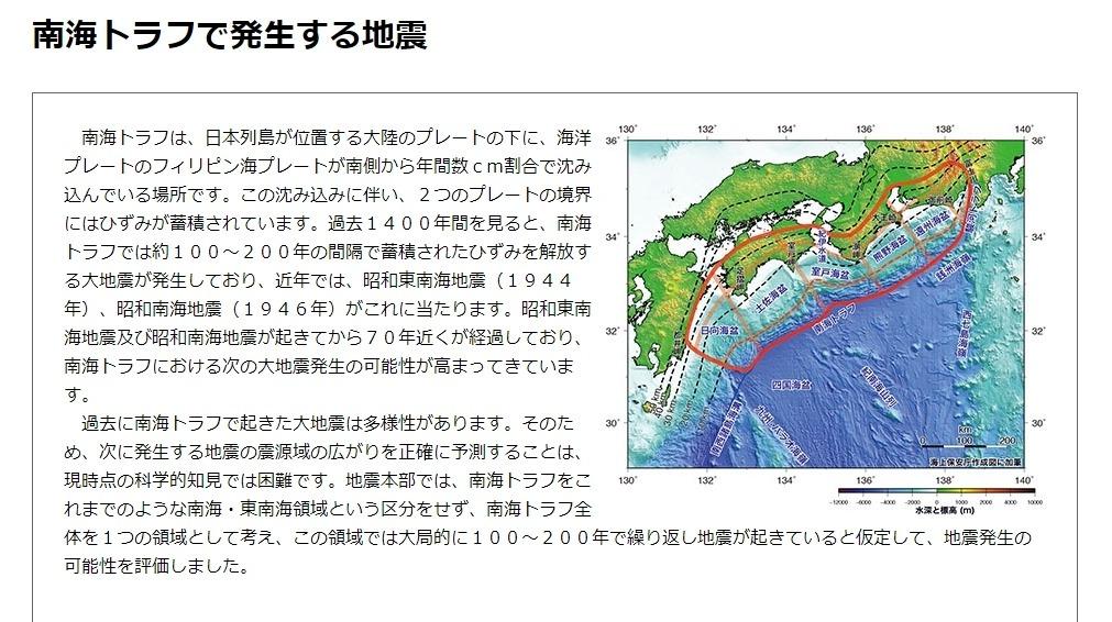 【地震予測】ここ30年の間に「南海トラフ巨大地震」が起きる可能性が「70~80%」とかいうけど、嘘だよな?