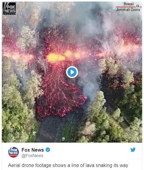 【非常事態宣言】ハワイの「キラウエア火山」が噴火…住民約1万人に避難勧告