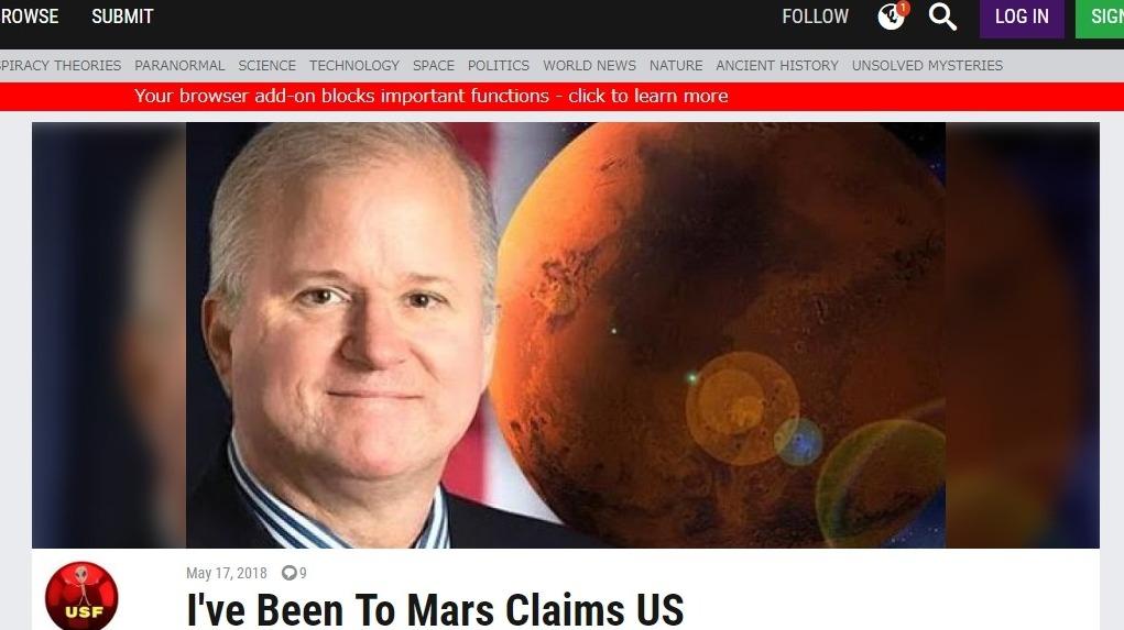 【ブラックスペース計画】2016年アメリカ大統領候補だった一人バシアゴ氏が激白「30年前に火星に40回程行った」ペガサス計画のジャンプルームからテレポーテーション