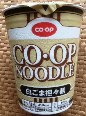 CO・OP NOODLE 白ごま坦々麺