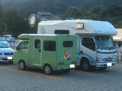蔦木宿 キャンピングカー
