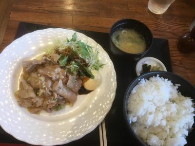 釈迦堂PA 定食