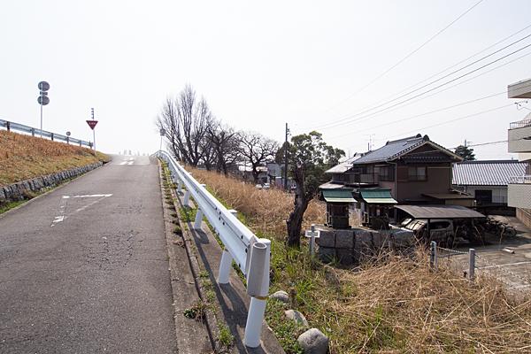 """上小田井不明社2全景"""""""