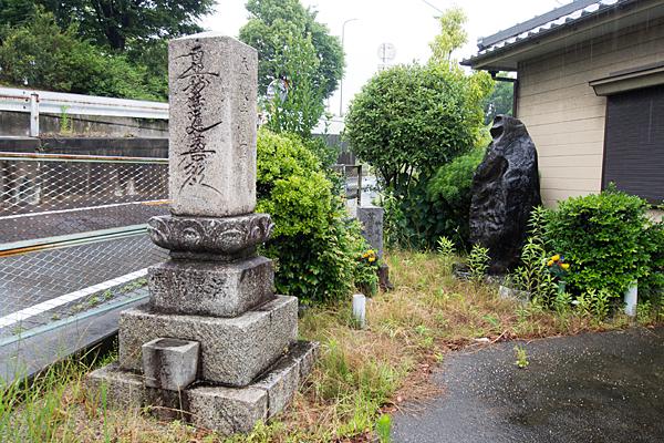 稲生水神堂石碑など