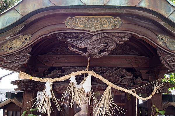 菊井金刀比羅社社の彫刻