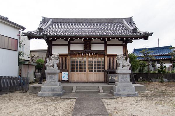 稲永神明社拝殿