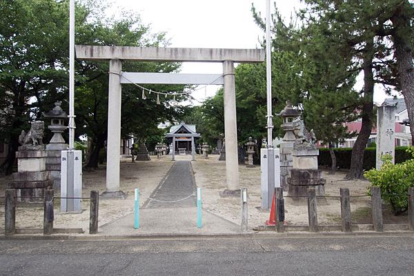 多加良浦町神明社