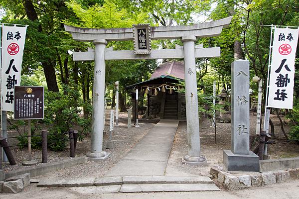 中村公園八幡社
