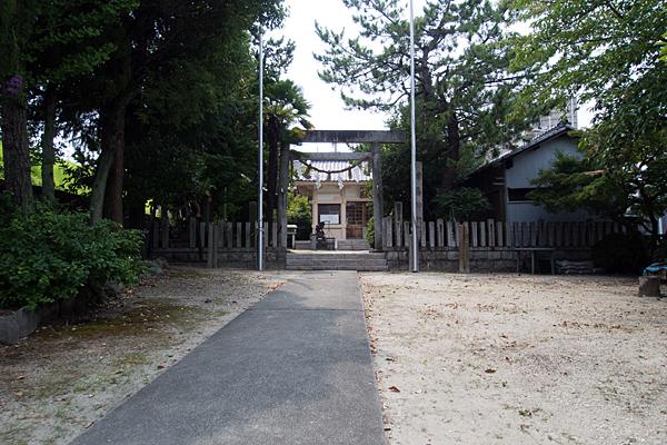 坂井戸津島社