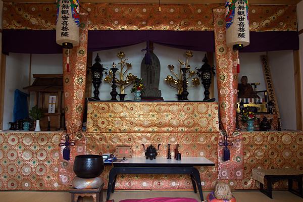 正徳町1丁目神明社二十番割感応堂内部