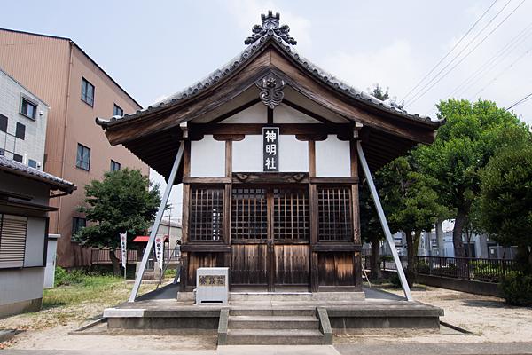 正徳2神明社拝殿