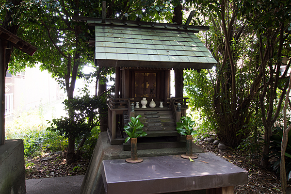 錦町天王明神の社