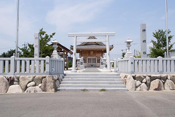七島神明社正面入り口