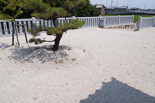 七島神明社白砂
