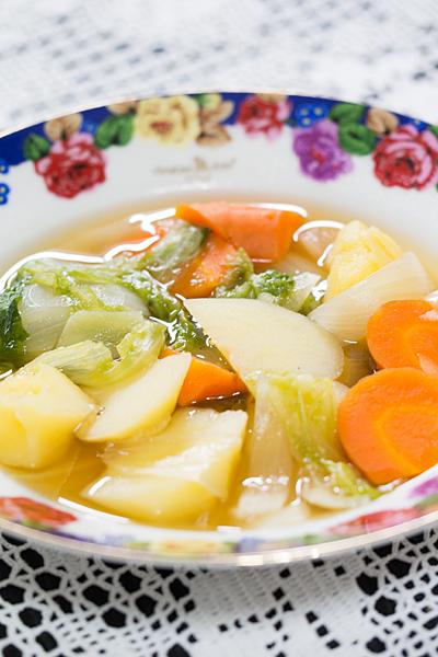 野菜和風スープ