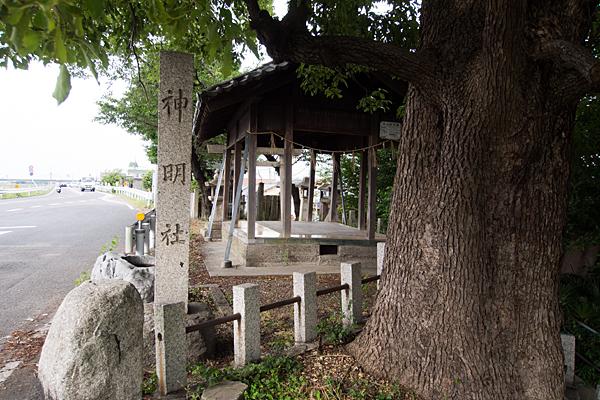 枇杷島神明社白山社合殿