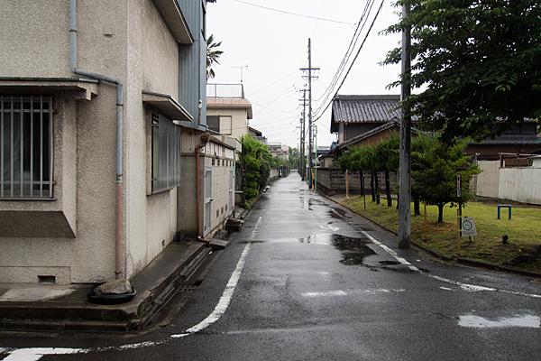 名塚白山社旧参道か