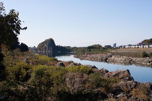 木曽川風景