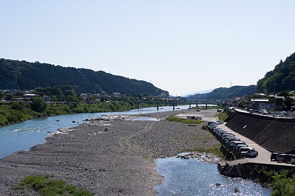 吉野川の風景