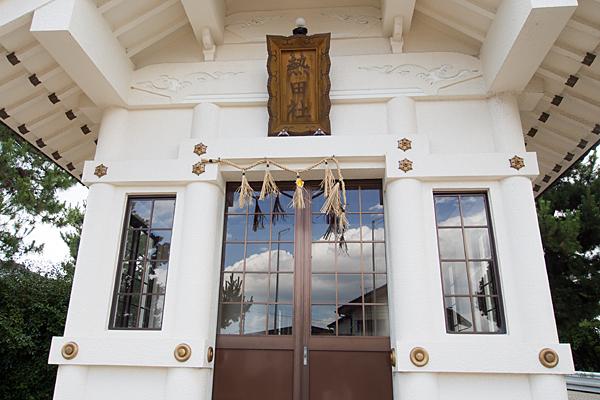 宝神町敷地熱田社拝殿
