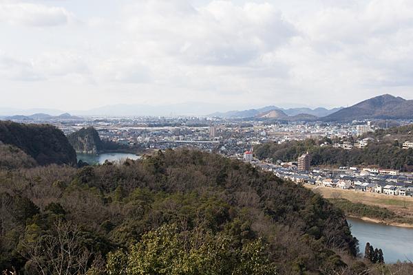 犬山の風景