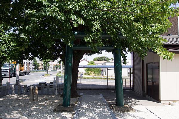 入場神社境内の風景