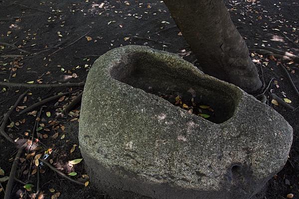 築地神社古い鉢