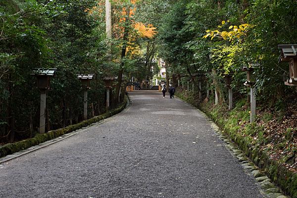 大神神社参道の風景