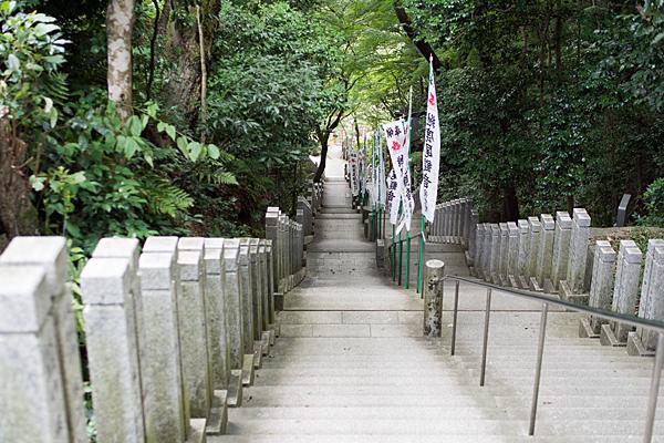 犬山寂光院長い階段