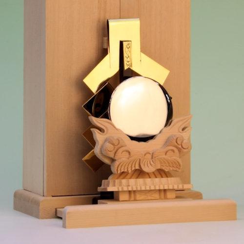 金幣芯と神鏡 日本製神具