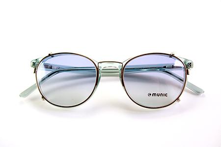 munic eye wear ミューニック クリップオン めがね サングラス 見附市の眼鏡店 長岡市 ショッピング