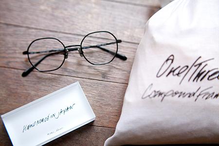 one/three compound frame オクタゴン 多角形 めがねフレーム 2018年 トレンド eyewear 丸メガネの次は 見附市のめがね店 新潟県眼鏡店 おしゃれなめがね