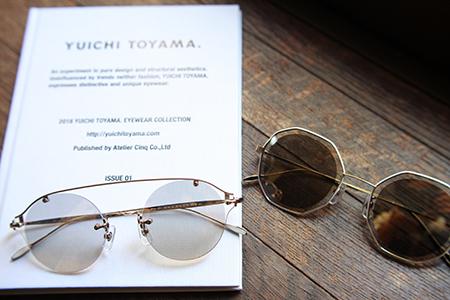 YUICHI TOYAMA. ユウイチトヤマ サングラス 新潟県 見附市 めがね 長岡眼鏡店 三条めがね屋