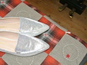 キラキラの靴-小