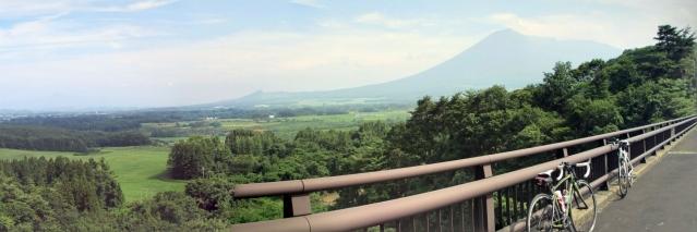 あせぬま橋からの眺め