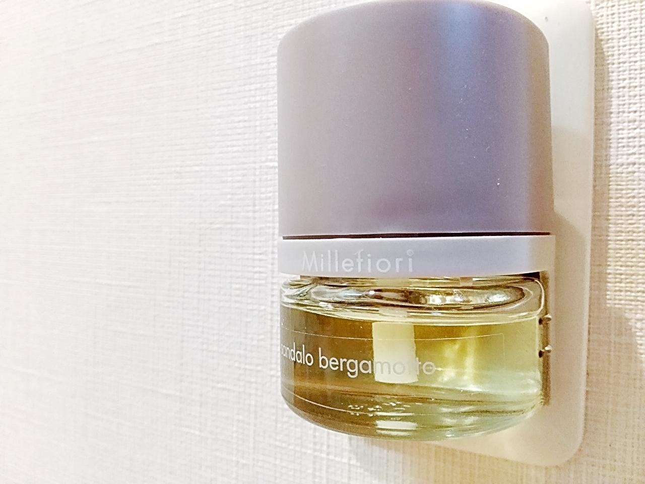 コンセントにさすだけで即上質な香りの空間作り【Millefiori(ミッレフィオーリ)プラグインディフューザーARIA】