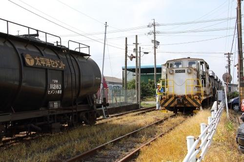 太平洋セメントスイッチャー 四日市港駅