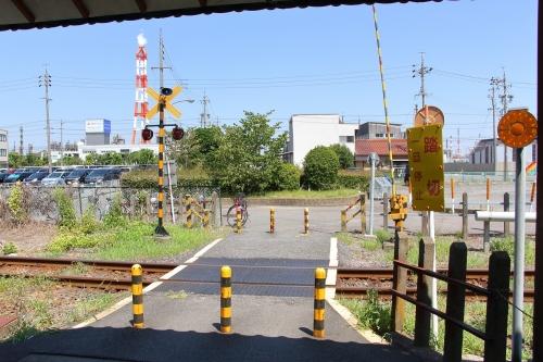 塩浜線 海山道駅前踏切