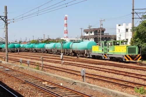 昭和四日市石油入換作業 塩浜駅